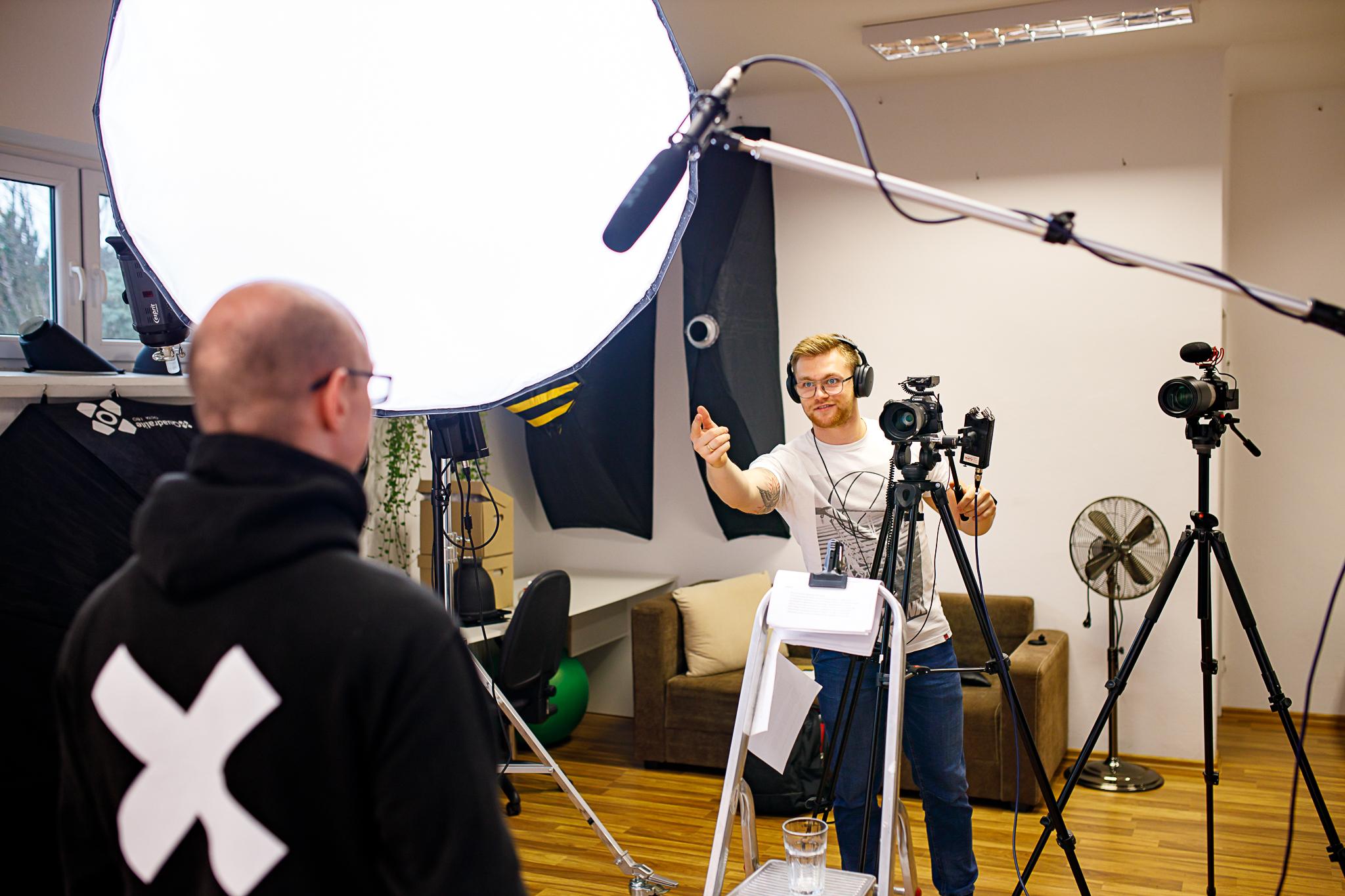 Nagranie video wypowiedzi